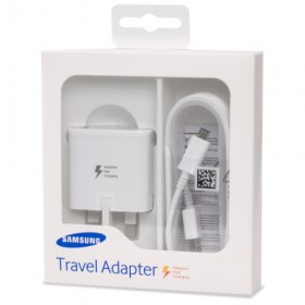 Official Samsung Adaptive Fast Charger – Micro USB – Retail Packed